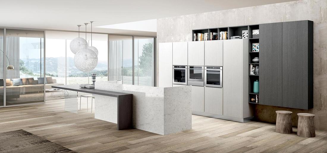 Cucine milano arredamento cucine con isola showroom for Lavoro arredamento milano