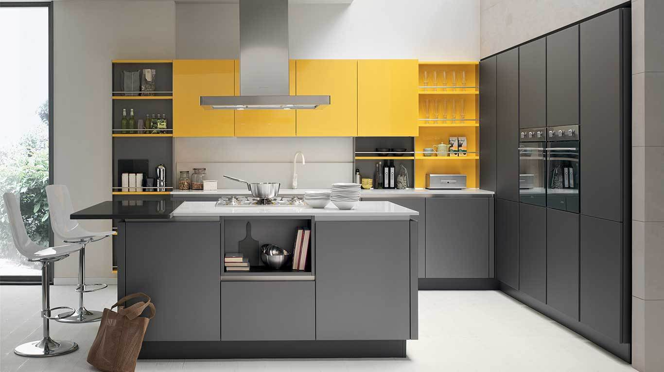 Cucine laccate showroom milano showroom cucine milano for Cucine milano
